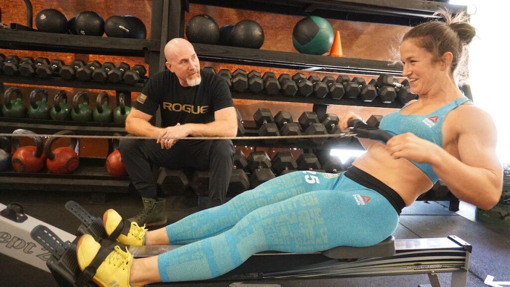Kari Pearce and Justin Cotler