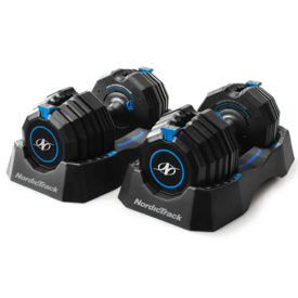 NordicTrack Select-A-Weight Dumbbells