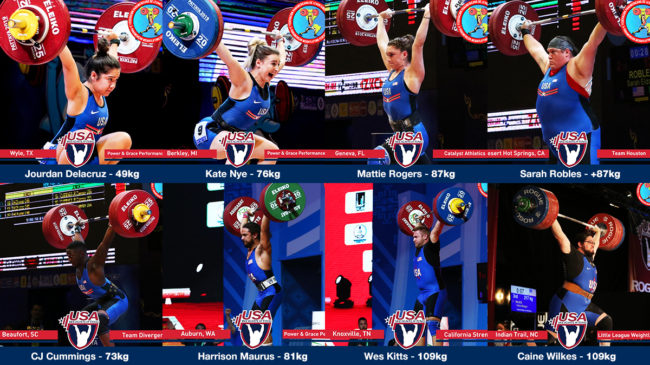 2020 Olympic Games Team USA Weightlifting Roster