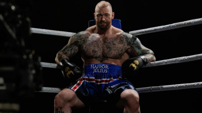 Hafthor Bjornsson Secon Exhibition Fight Recap