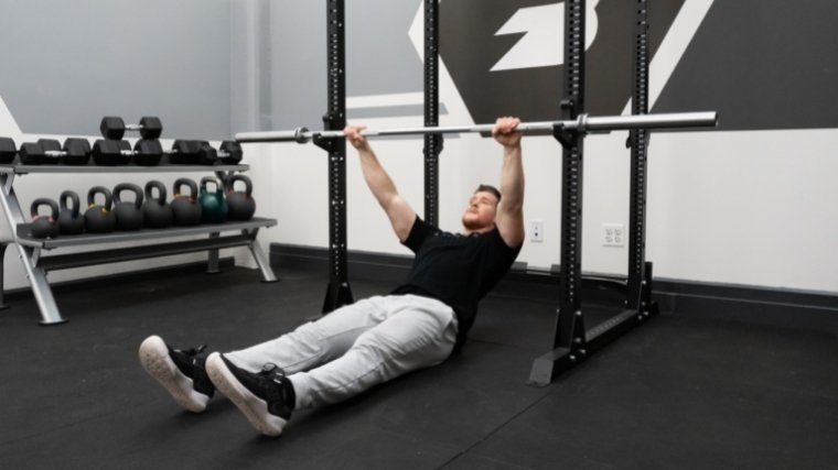 Inverted Row Step 1