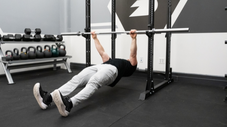 Inverted Row Step 2