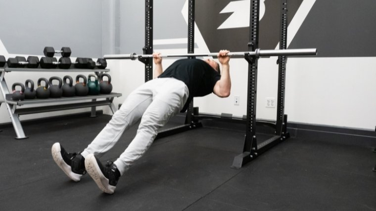 Inverted Row Step 3