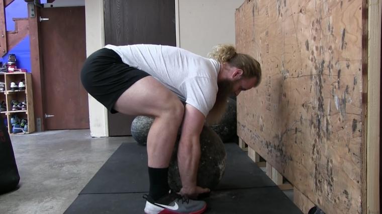 Atlas Stone Step 1