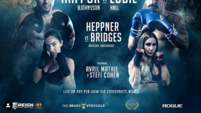 Stefi Cohen Boxing Debut