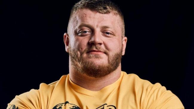Strongman Luke Richardson