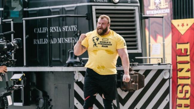 Strongman Johnny Hansson