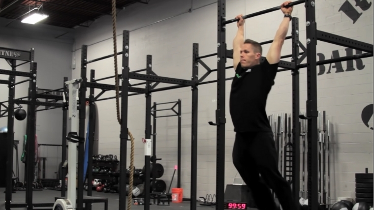Kipping Pull-Up Step 2