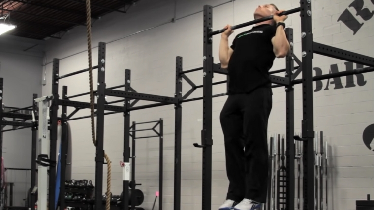 Kipping Pull-Up Step 3