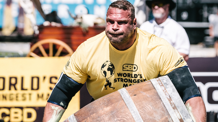 Terry Hollands - SBD World's Strongest Man 2021 - Day 1