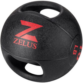 ZELUS Medicine Ball with Dual Grip