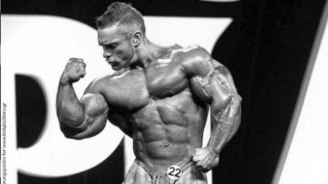 Bodybuilder Flex Lewis