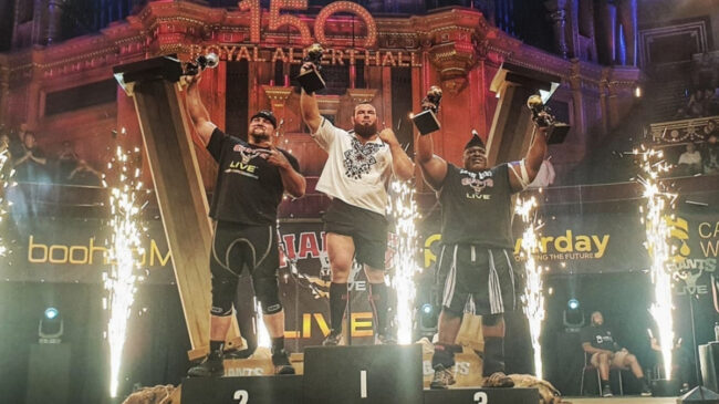 The 2021 Strongman Classic Results