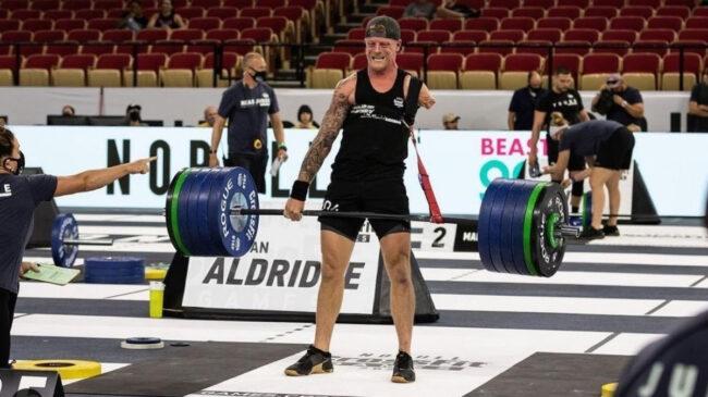 Logan Aldridge Deadlifts 502 Pounds