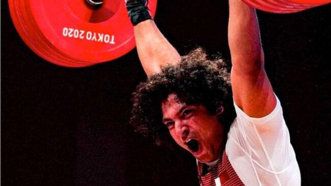 96-Kilogram Weightlifter Meso Hassouna 2020 Tokyo Olympics