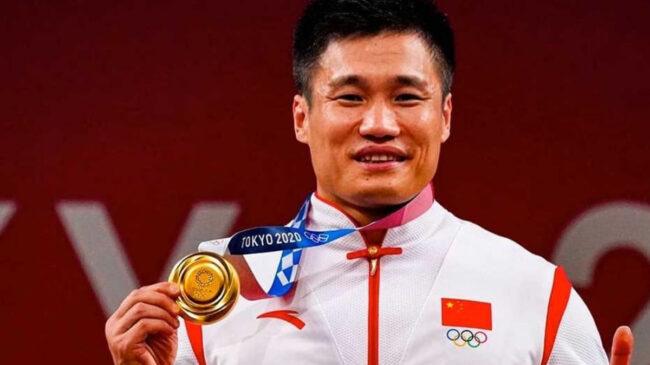 2020 Tokyo Olympic Games Weightlifter Lu Xiaojun