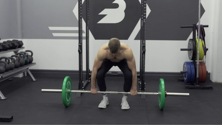 Bent-Over Row - Step 1