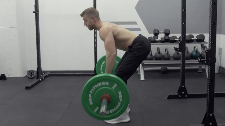 Bent-Over Row - Step 2