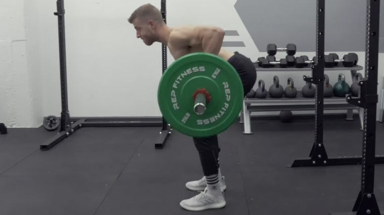 Bent-Over Row - Step 3