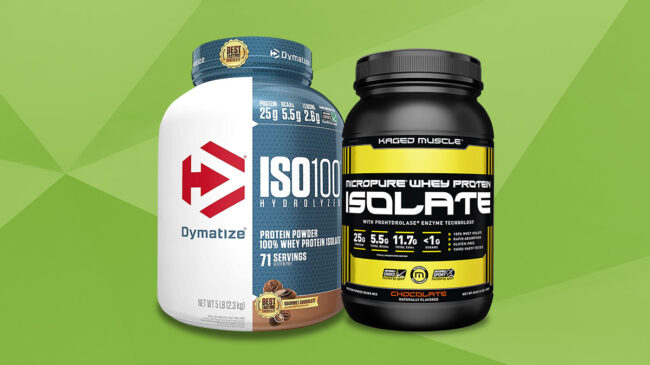 Best Whey Protein Isolate Protein Powders