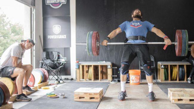 harrison maurus snatch weightlifting