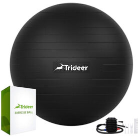 Trideer Extra Thick Yoga & Exercise Ball