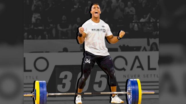 CrossFitter Guilherme Malheiros