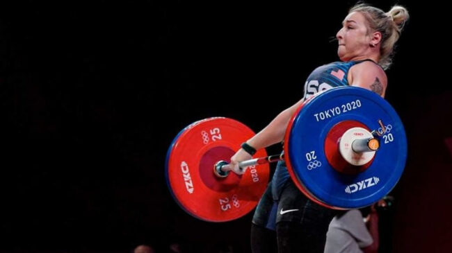 2020 Olympic Games Weightlifter Kate Nye