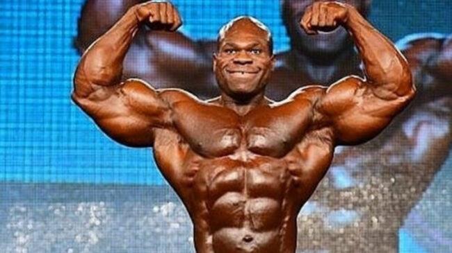 Bodybuilder Lionel Beyeke