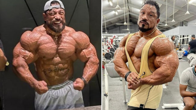 Bodybuilder Roelly Winklaar