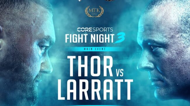 Bjornsson vs Larratt