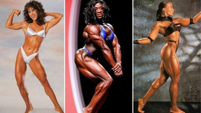 Ms. Olympia Winners: Rachel McLish, Iris Kyle, and Lenda Murray