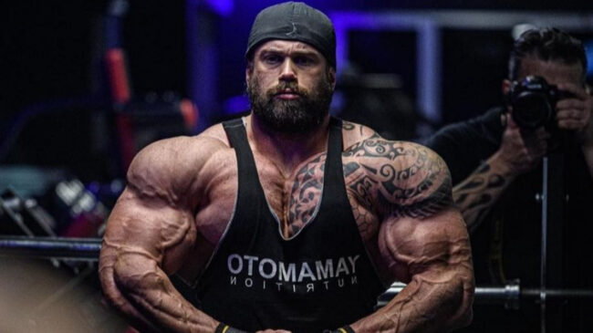 Bodybuilder Andrea Presti